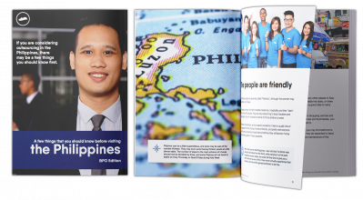 Download our FREE book on the Outsourcing Opportunities in the Philippines