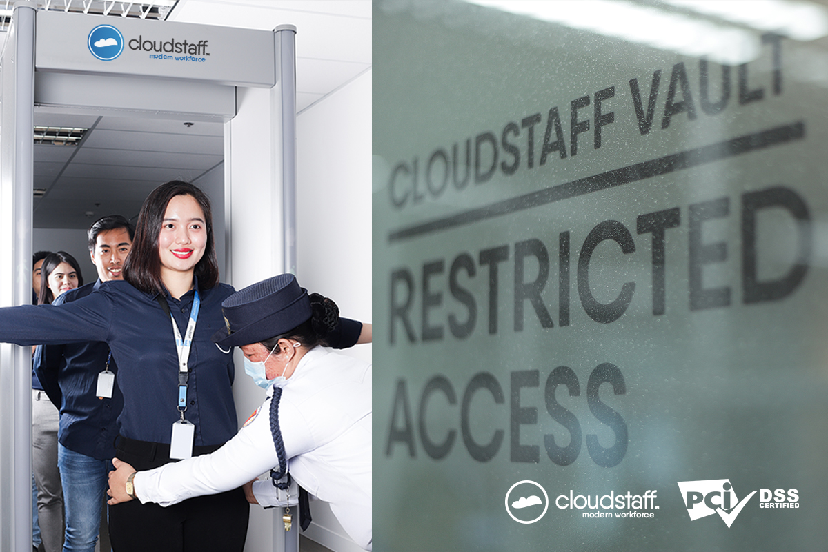 Cloudstaff Vault - PCI Certified Data Security